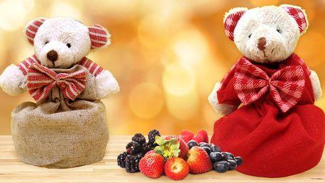 Vonný plyšový medvídek v několika variantách parfémů