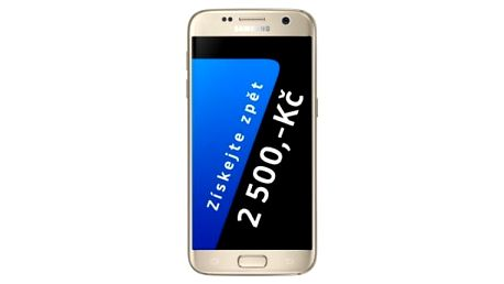Mobilní telefon Samsung S7 32 GB (G930F) (SM-G930FZDAETL) zlatý