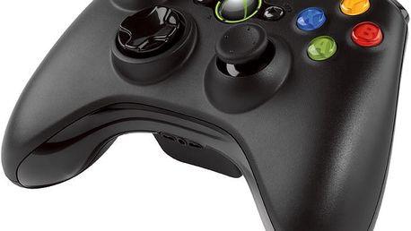 Microsoft Xbox 360 Gamepad, bezdrátový (PC, Xbox 360) - JR9-00010