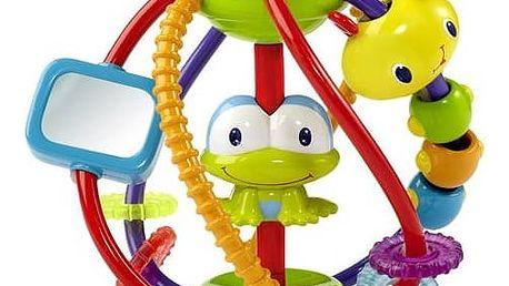 Hračka Bright Starts Clack & Slide Activity Ball™ červená/modrá/žlutá/zelená