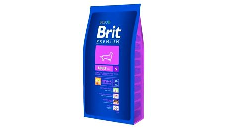 Granule Brit Premium Dog Adult S 8 kg