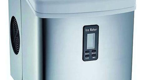 Výrobník ledu Guzzanti GZ 123 stříbrný + Doprava zdarma