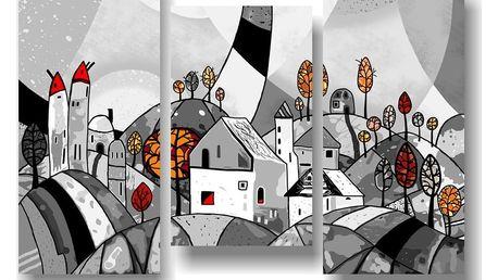 Sada 3 obrazů Landscape - doprava zdarma!