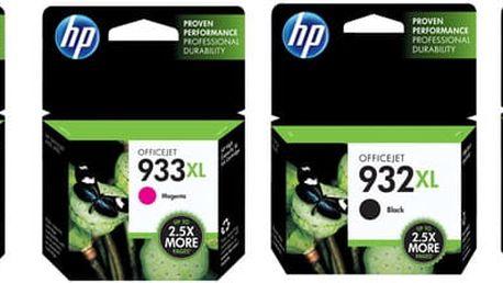 HP C2P42AE, Combo Pack, č. 932XL/933XL – ušetřete až 20 % oproti standardní náplni