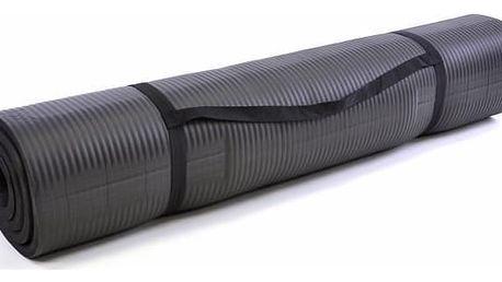 Podložka na cvičení 190 x 102 x 1,5 cm - černá