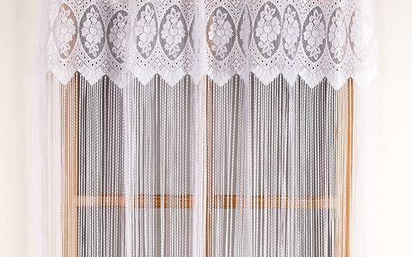 Albani Provázková záclona Třásně, 150 x 180 cm