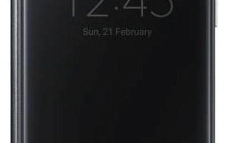 Pouzdro na mobil flipové Samsung Clear View pro Galaxy S7 (EF-ZG930C) (EF-ZG930CBEGWW) černé