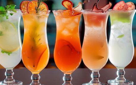 Až 6 karibských koktejlů v centru Brna