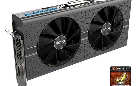 Sapphire Radeon NITRO+ RX 580, 8GB GDDR5 - 11265-00-40G