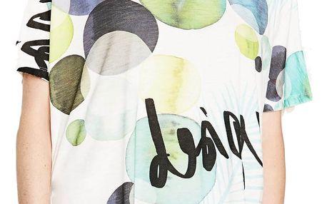 Desigual barevné tričko Leyre - L