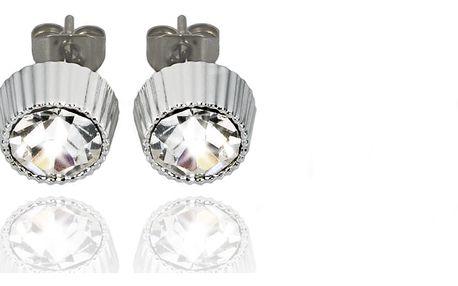 Fashion Icon Náušnice pecky stříbrné 7 mm