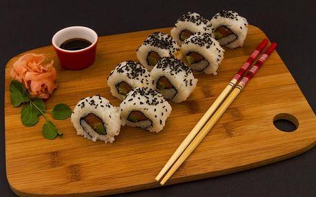 Kurz přípravy sushi v Jihomoravském kraji