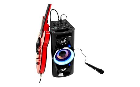 Party reproduktor GoGEN BPS 626 černý + POS materiál - Energetický nápoj Semtex Org. 6x0,5l v hodnotě 200 Kč + Doprava zdarma