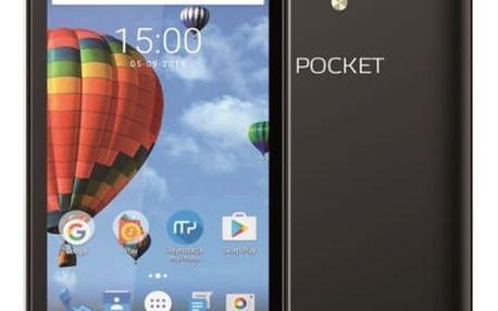 Mobilní telefon myPhone POCKET (TELMYAPOCKETBK) černý