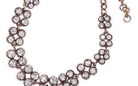 Fashion Icon Náramek s krystaly a patinou
