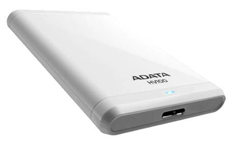 ADATA HV100 - 1TB, bílá - AHV100-1TU3-CWH