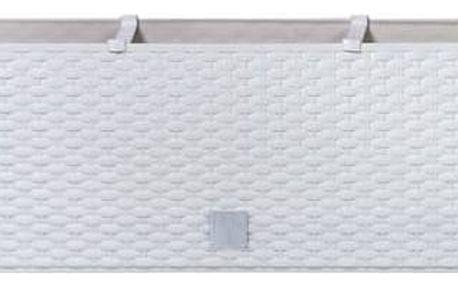 Truhlík samozavlažovací Prosperplast Rato case 60 x 25 x 24 cm bílý