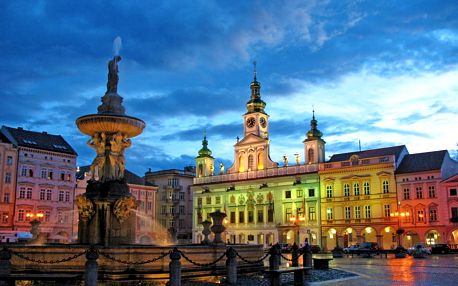 Jižní Čechy: ubytování v srdci Českých Budějovic se snídaněmi – platnost až do prosince
