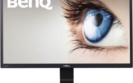"""BenQ GW2470HM - LED monitor 24"""" - 9H.LEYLA.TBE + Kabel HDMI/HDMI, 1,8m M/M stíněný (v ceně 299,-)"""