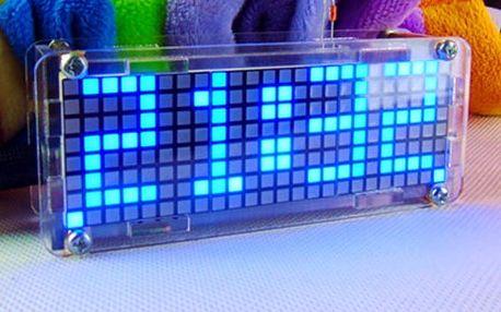 LED digitální hodiny pro kutily