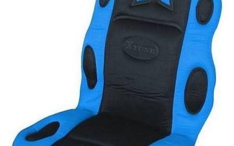 Potah sedadel Compass RACE černo-modrý
