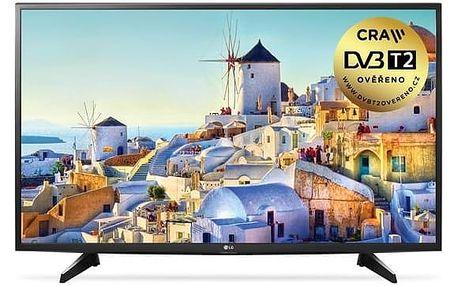 Televize LG 49LH590V černá + Doprava zdarma