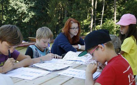 Tábor s angličtinou pro děti na 8-10 dní v Jižních Čechách či na Vysočině