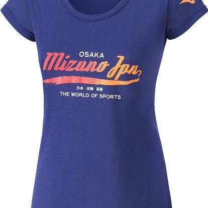 Dámské sportovní tričko Mizuno Heritage Tee S