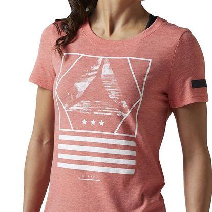 Dámské sportovní tričko Reebok Workout Ready CS Graphic Tee L