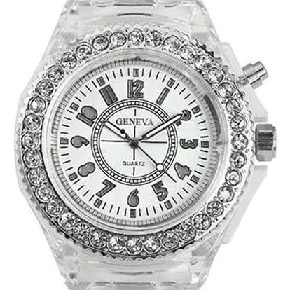 GENEVA Dámské svítící hodinky