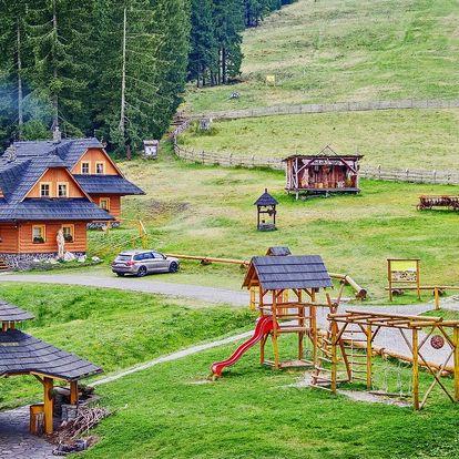 Letní wellness pobyt v tradiční kolibě na Oravě