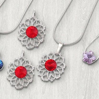 Souprava šperků s krystaly Swarovski®Elements