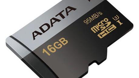 ADATA Micro SDHC Premier Pro 16GB UHS-I U3 - AUSDH16GUI3CL10-R