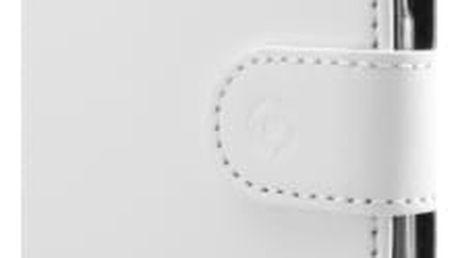 Pouzdro na mobil flipové Celly pro Samsung Galaxy S8+ (WALLY691WH) bílé