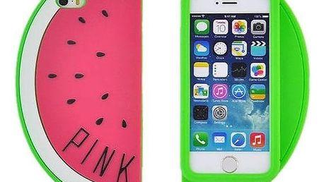 PINK Pouzdro na mobil meloun - růžové