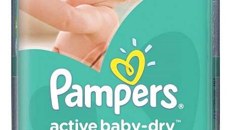 Pampers Active baby 4 maxi 7 - 14 kg 76 kusů