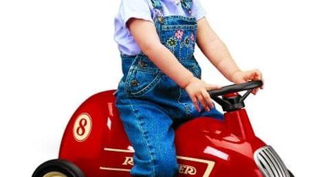 Kovové retro odrážedlo či vozík až pro 2 děti od značky Radio Flyer včetně dopravy