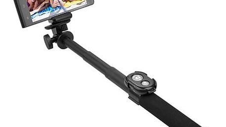 GoGEN 5 Selfie tyč teleskopická, bluetooth, černá - GOGBTSELFIE5B + Zdarma Power Bank GoGEN 2000mAh - černá/červená (v ceně 299,-)