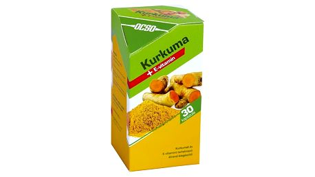Ocso Kurkuma + Vitamín E 30 tbl