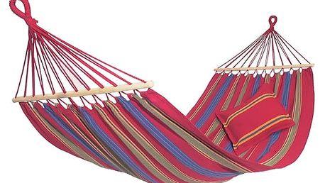 Závěsná houpací síť s tyčemi
