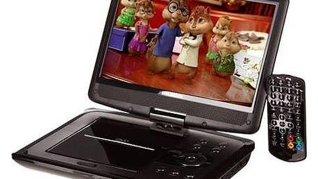 DVD přehrávač Hyundai PDP 10809 DVB-T černý + Doprava zdarma