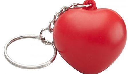 Antistresová klíčenka v podobě srdce - dodání do 2 dnů