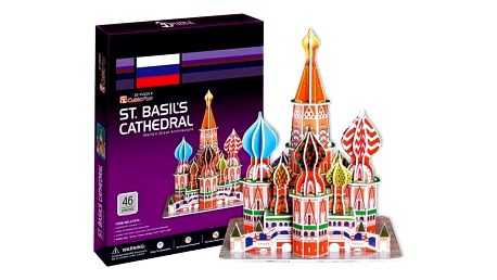 3D puzzle - Chrám Vasila Blaženého