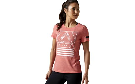 Dámské sportovní tričko Reebok Workout Ready CS Graphic Tee XS