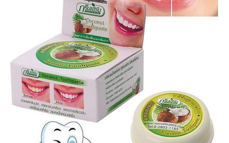 Bělící zubní pasta Kokos 10 g