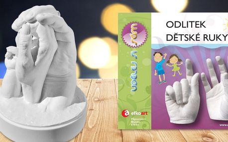 Kreativní sady k výrobě odlitku dětských ručiček