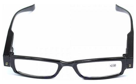 Brýle na čtení s LED světlem