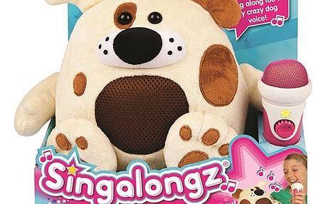 SINGALONGZ Zpívající zvířátko s mikrofonem
