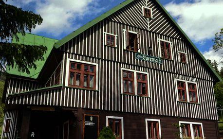 Last minute v penzionu Lucerna ve Špindlerově mlýně s hodinou sauny a snídaněmi