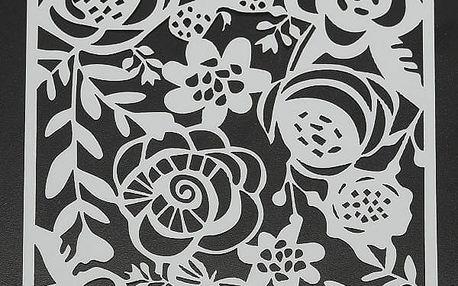 Šablona na textil a zeď - 6 variant